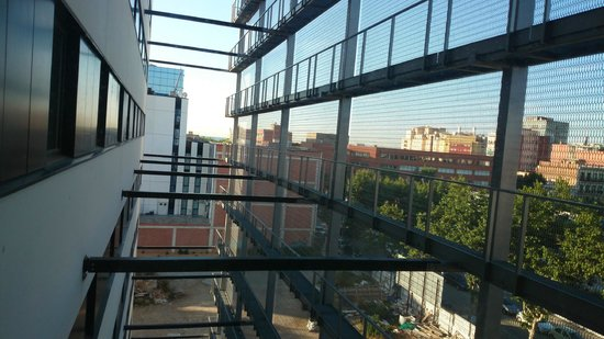 Travelodge Barcelona Poblenou: view from our room