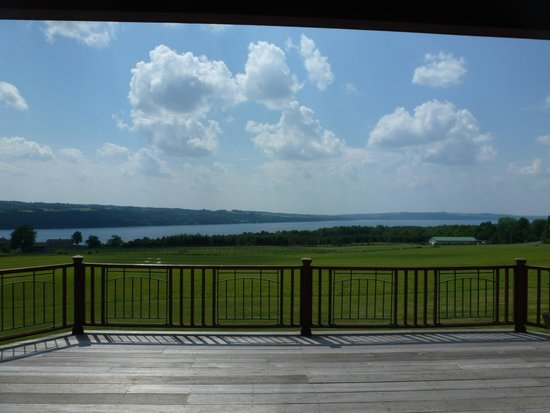 Pine Grove Bed & Breakfast: View from Deck