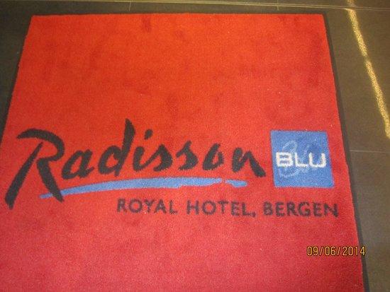 Radisson Blu Royal Hotel, Bergen: Den røde løperen