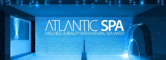 Atlantic Hotel Riccione : Vasche idromassaggio con acqua marina in Atlantic Spa