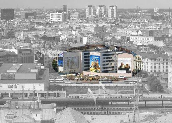 Tallink Hotel Riga: das Hotel liegt am Bahnhof