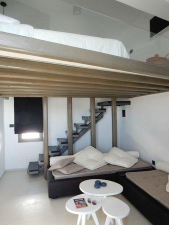 Liostasi Hotel & Suites: notre suite