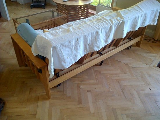 The Old Rectory: The futon !