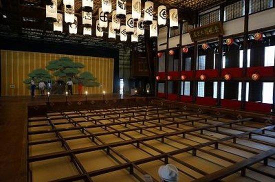 Former Konpira Old Theater Kanamaruza: 桟敷席と大舞台
