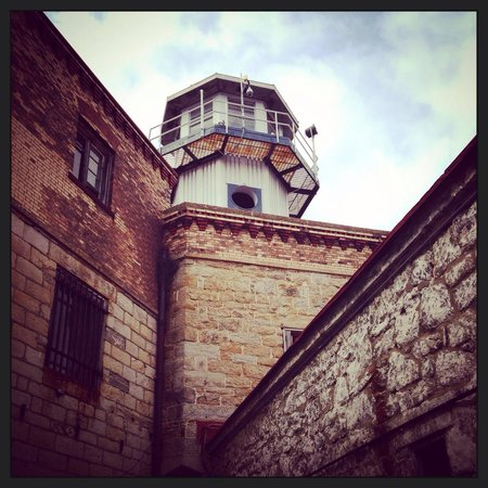 Eastern State Penitentiary : The tower and walls.