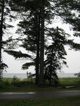 Pancake Bay Provincial Park: View from campsite