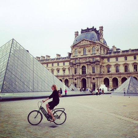 Bike About Tours : Louvre Rider