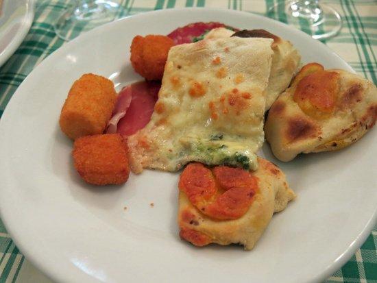 Hostaria - Pizzeria  Dino & Toni: Antipasti