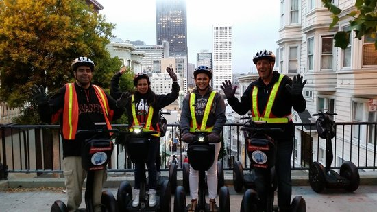 City Segway Tours San Francisco : Good photo opps on tour stops.