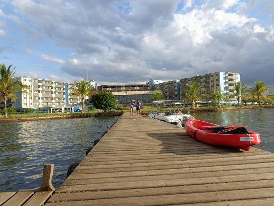 Bay Park Resort Hotel : Vista do Píer!