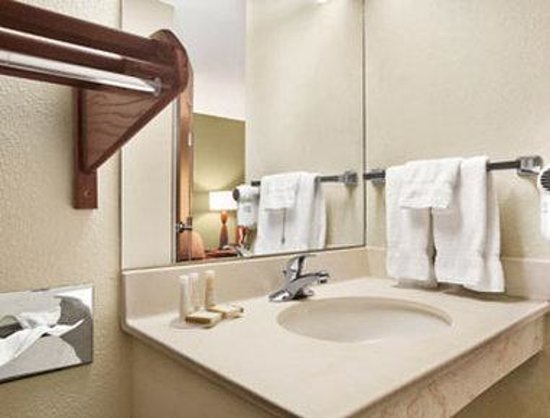 Baymont Inn & Suites Evansville North/Haubstadt: Bathroom