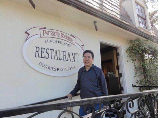 Patisserie Boissiere Restaurant : Frances em Carmel - Pequeno e acolhedor