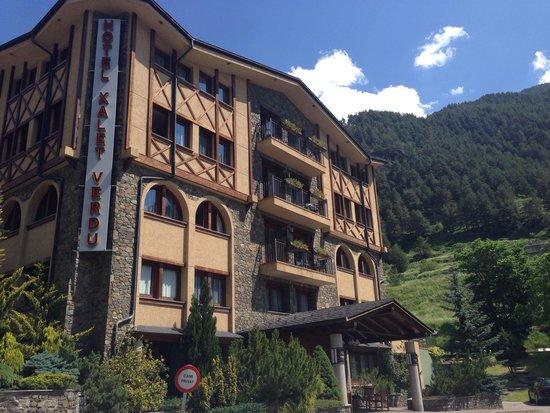 Xalet Verdu Hotel: Entrada