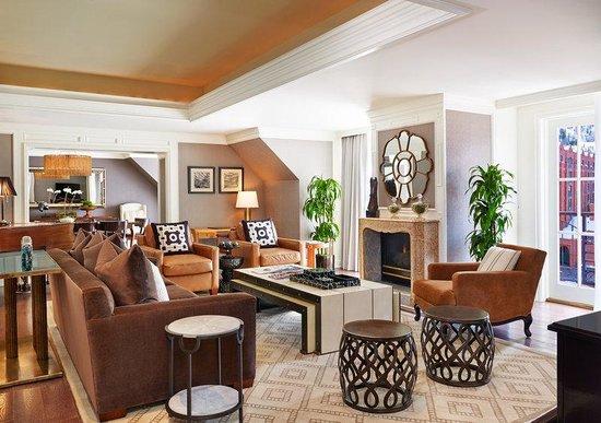 The St. Regis Aspen Resort: Presidential Suite Living Room