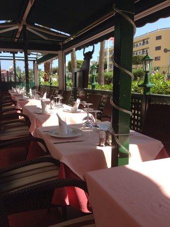 Grill El Asador: Terrace