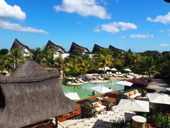 Angsana Balaclava Mauritius: View from the reception