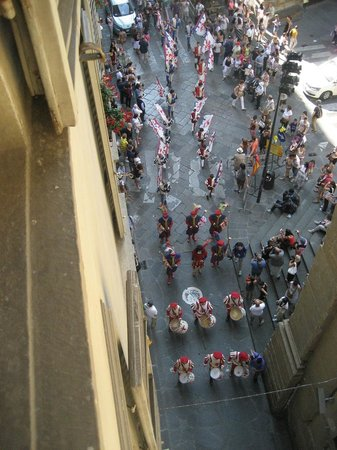 Bernini Palace Hotel : Another view of the parade.