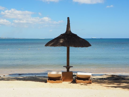 Angsana Balaclava Mauritius: Beach