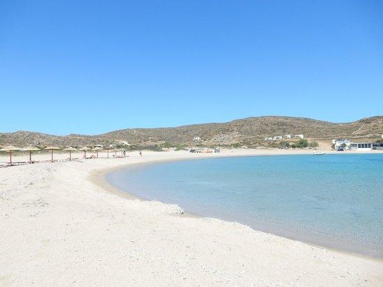 Manganari Beach: plage
