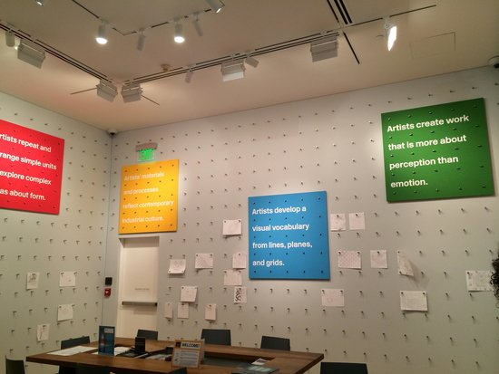 Baltimore Museum of Art: Interactive area of the museum