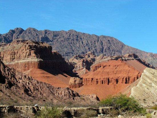 Quebrada del Rio de las Conchas: La Yesera 4