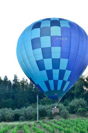 Idea Balloon Mongolfiere inToscana: Perfect Landing