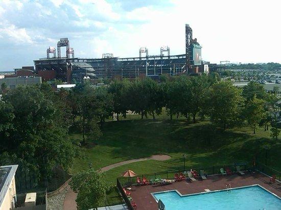 Holiday Inn Philadelphia Stadium : View from room 625