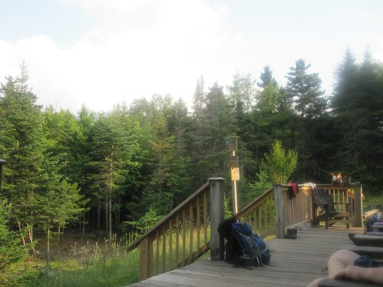 Johns Brook Lodge: View from the deck