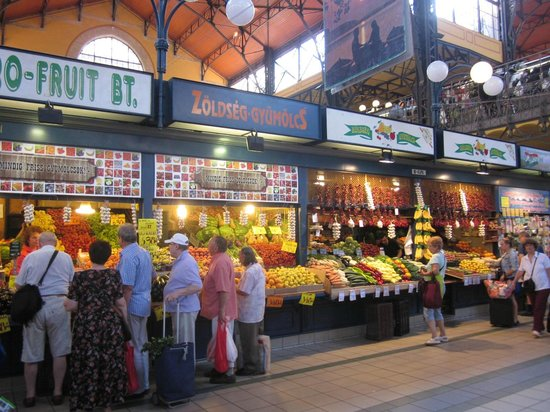 Central Market Hall: Fresh fruits and vegetables