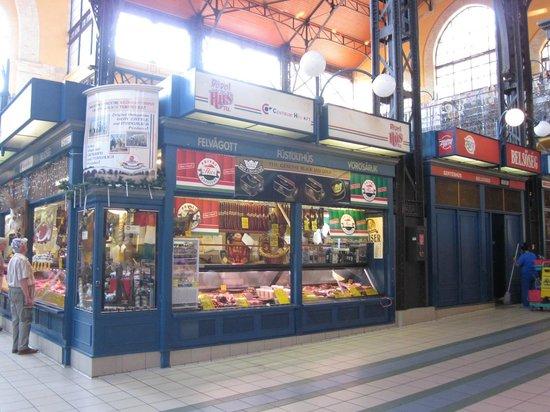 Central Market Hall: Butcher shop