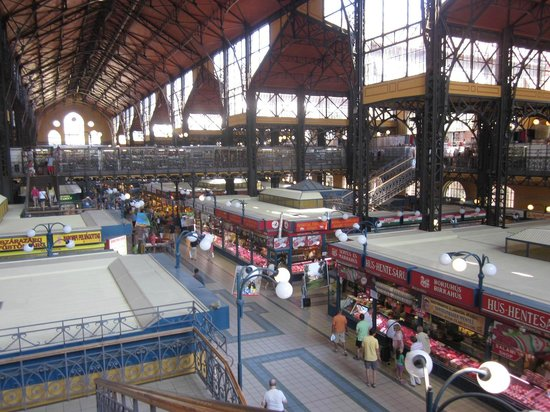 Central Market Hall: View from upstairs