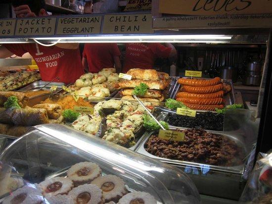 Central Market Hall: Ready to eat tasty treats