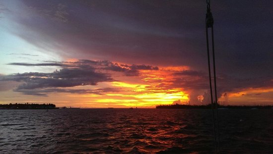 Sebago Key West : Great cruise. Thanks guys. Saturday 5pm Snorkal/sunset crew was awesome! Big thumbs up from Texa