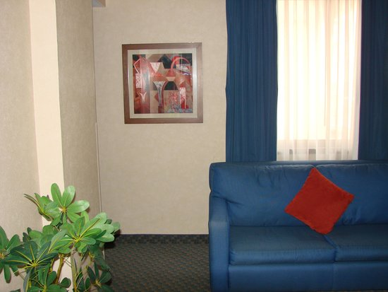 Hampton Inn & Suites Mexico City - Centro Historico: Other secction of living room