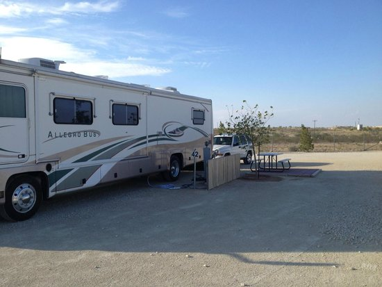 Hilltop RV Park: Our site