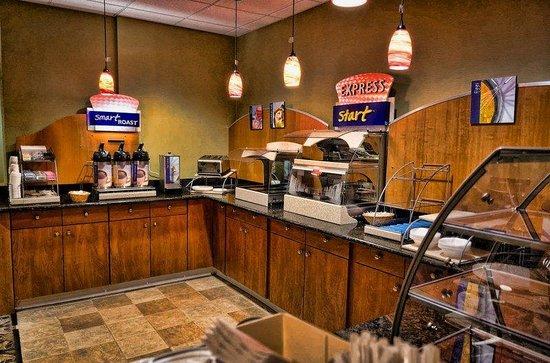 Holiday Inn Express La Plata: Express Start Breakfast Bar