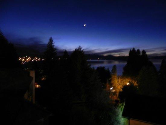 Altuen Hotel Suites&Spa: Anochecer desde el balcon de la habitacion
