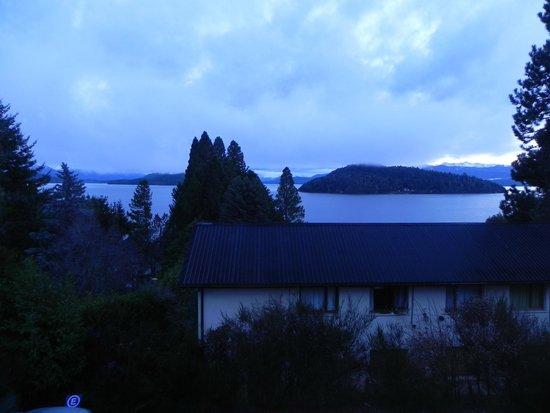 Altuen Hotel Suites&Spa: Amanecer desde el balcon de la habitacion