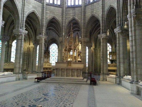 Basilica Cathedral of Saint-Denis: Arquitetura gótica da Catedral