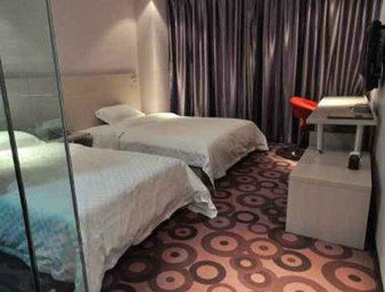 Super 8 Hotel Yinchuan Qirong Qing HE Bei Jie: Twin Bed Room