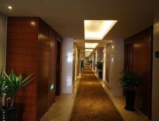 Super 8 Hotel Hefei Xin Tian Di : Hallway