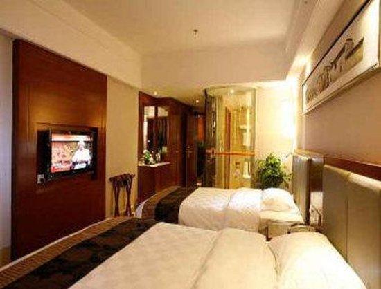 Super 8 Hotel Hefei Xin Tian Di : 2 Twin Bed Room