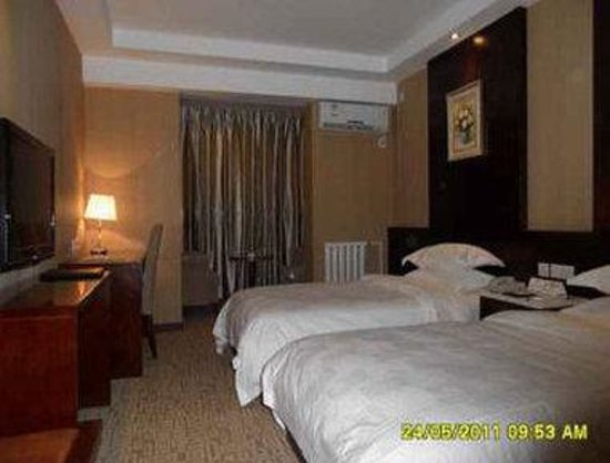 Super 8 Hotel Xian Bei Men : Two Twin Bed Guest Room