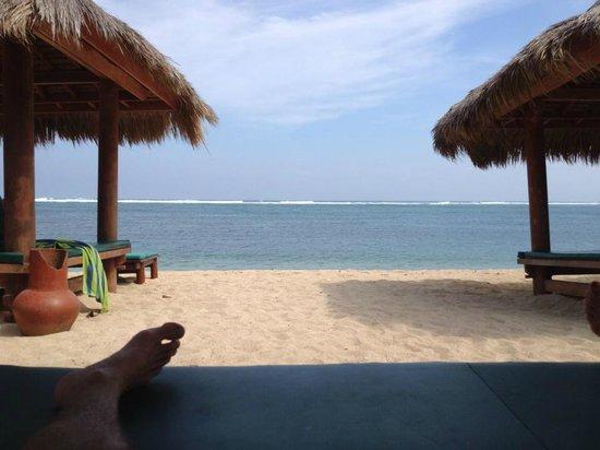 Novotel Lombok Resort and Villas : Beach front