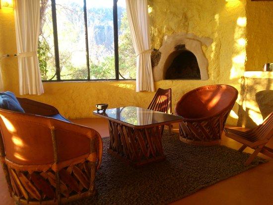 Villas Valle Mistico: CHIMENEA SOL