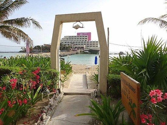 Hotel Villa Kiin : View from hotel
