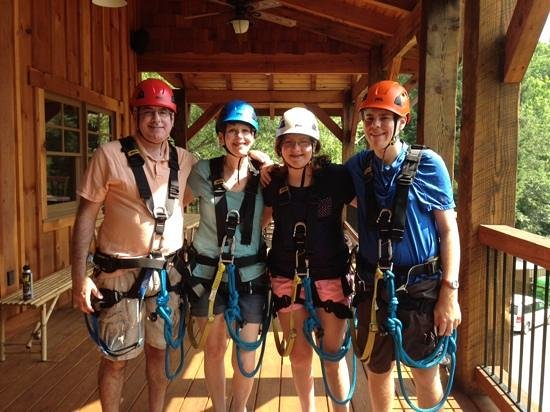 Cool River Adventures: Geared up & ready to go!