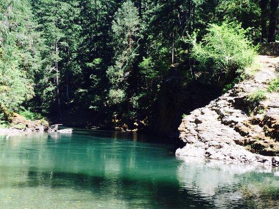 La Wis Wis Campground : Blue Hole