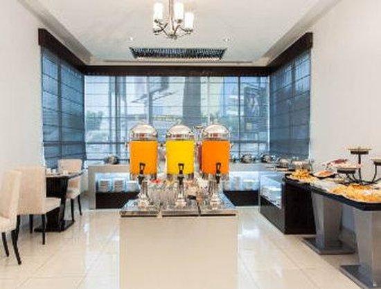 Howard Johnson Hotel Guayaquil: Breakfast Area