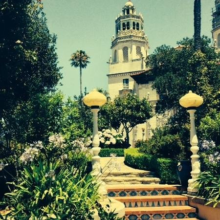 Hearst Castle : view from below